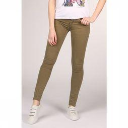 Kaporal Jeans Denim With Zip Detail Slim mid khaki