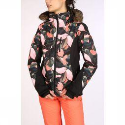 Roxy Coat Jet Ski Premium black/Assortment Flower
