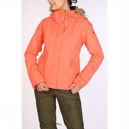 Roxy Coat Jet Ski Solid salmon