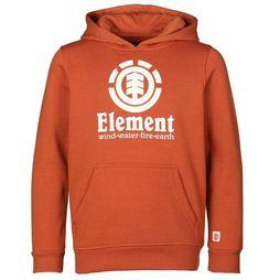 Element Pullover Vertical Hood rust