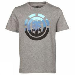 Element T-Shirt Glimpse Icon Gris Clair Mélange