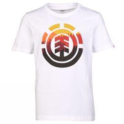 Element T-Shirt Glimpse Icon white