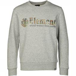 Element Pullover Glimpse Horizontal Light Grey Mixture