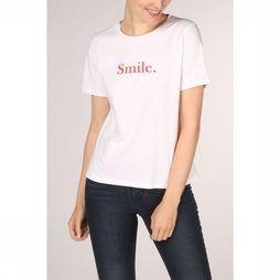 Grace&Mila T-Shirt Sunny Gebroken Wit/Middenrood