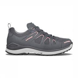 Lowa Shoe Innox Evo Gore-Tex Lo mid grey/light pink