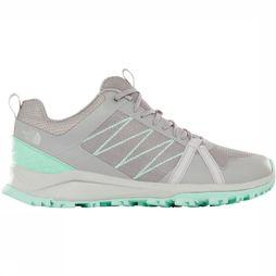 The North Face Schoen Litewave Fastpack II Women Lichtgrijs/Turkoois