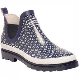 Regatta Botte Lady Harper Welly marine/Blanc