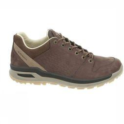 Lowa Shoe Strato Evo Leather Lo dark brown