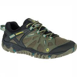 Merrell Shoe All Out Blaze Aero Sport dark khaki