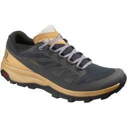Salomon Schoen Outline Gore-Tex Middengrijs/Goud