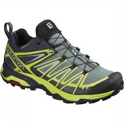 Salomon Schoen X Ultra 3 Men Middengroen/Lime