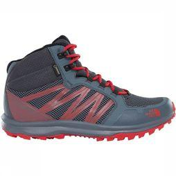 The North Face Schoen Litewave Fastpack Mid Gore-Tex Men Middengrijs/Rood