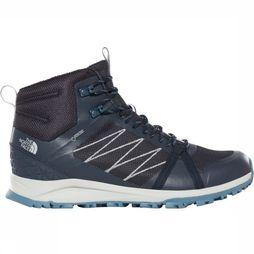 The North Face Schoen M Litewave Fastpack II Mid Gore-Tex Marineblauw/Middengrijs