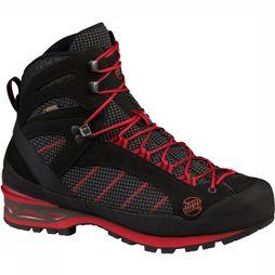 Hanwag Shoe Makra Combi Gore-Tex black/red