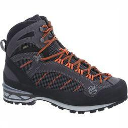 Hanwag Shoe Makra Combi Gore-Tex dark grey/orange