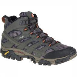 Merrell Shoe Moab 2 Mid Gore-Tex dark grey