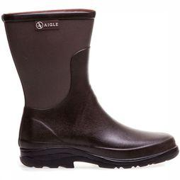 Aigle Boot Rboot Bottillon Dark Brown/Taupe