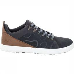 Jack Wolfskin Shoe Auckland Low black/mid brown