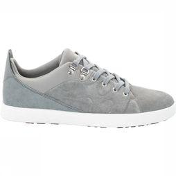 Jack Wolfskin Shoe Auckland Low mid grey/white