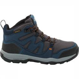 Jack Wolfskin Shoe Mtn Attack 3 Texapore Mid Marine/Dark Grey