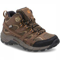 Merrell Shoe Moab 2 Mid A/C WP brown