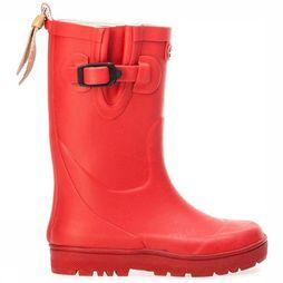 Aigle Botte Woody Pop Fur Rouge