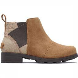 Sorel Chaussure Youth Emelie Chelsea Brun Sable