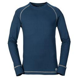 Jack Wolfskin Top Dry'n Cosy Donkerblauw