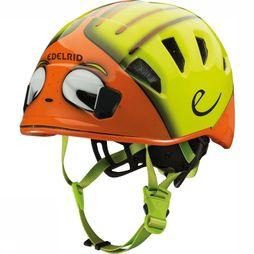 Edelrid Casque Kid'S Shield Ii Vert Clair/Orange