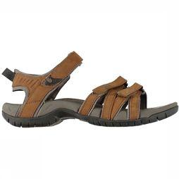 Teva Sandaal Tirra Leather Middenbruin