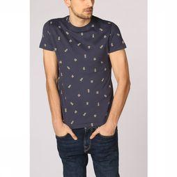 New In Town T-Shirt 8923048 Donkerblauw/Assortiment Geometrisch