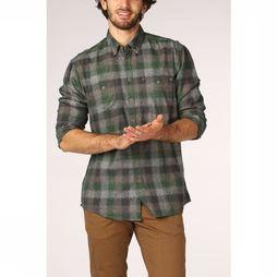 Camel Active Shirt 125330 mid grey/mid green