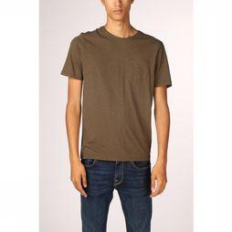 Camel Active T-Shirt 128077 dark khaki