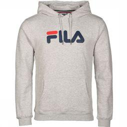 Fila Pullover Pure Hoodie Light Grey Mixture