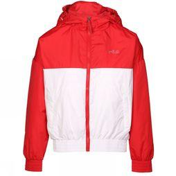 Fila Manteau Ray Windbreaker Blanc/Rouge Moyen