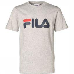 Fila T-Shirt Classic Logo Light Grey Mixture
