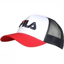 Fila Cap Trucker dark blue/mid red