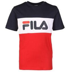 Fila T-Shirt Day Block dark blue/red