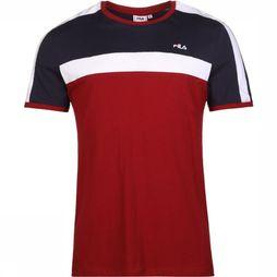 Fila T-Shirt Anastas Bordeaux/Dark Blue