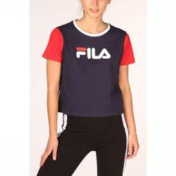 Fila T-Shirt Salome Marineblauw/Middenrood
