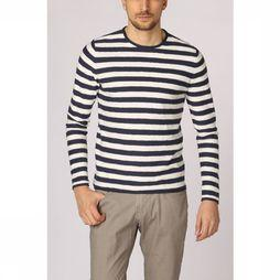 New In Town Pullover 8925027 dark blue/off white