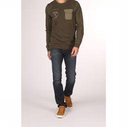 Camel Active Jeans Huston Donkerblauw