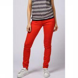 MAC Broek Dream Skinny Middenrood