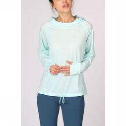 Esprit Pull Ls E-Dry Solid Turquoise