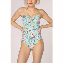 Esprit Bathing Suit South  Swimsuit Padded Petrol