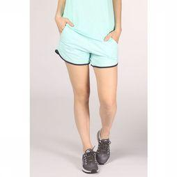 Esprit Short Shorts Sweat Solid Turquoise