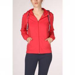 Esprit Pullover Cardigan Sweat Solid red