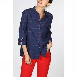 Esprit Shirt 029Ee1F004 dark blue/mid red