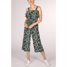 Tom Tailor Jumpsuit 1010462 black/Assortment Flower