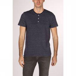 Tom Tailor T-Shirt 1011502 Donkerblauw/Wit